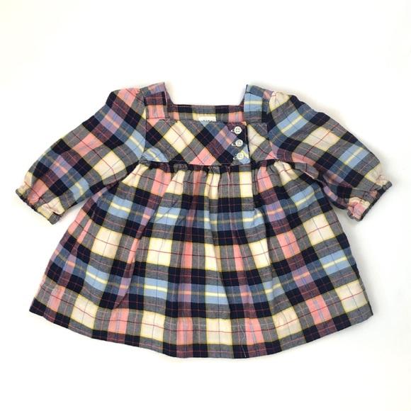 GAP Other - Baby Gap Newborn Plaid Dress